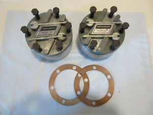 NOS Dualmatic Locking Hubs Willys Jeep J4800 Pickup Camper Special 10 Spline
