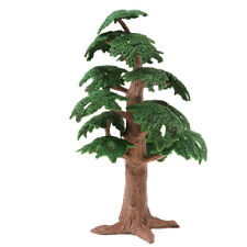 1/100 Pine Tree Model Train Railway Scenery Layout Miniature Scene Props Toy