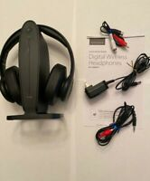 Insignia NS-HAWHP2 RF Wireless Over the Ear Headphones - Black