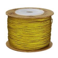 100m/Spool Nylon Cord 0.8mm Thread Knot Macrame DIY Beading Bracelet Braided