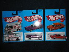Hot Wheels 2017 TARGET EXCLUSIVE RETRO SERIES Set of 3 newly added cars, New