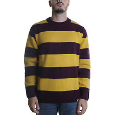 Carhartt Alvin Sweater Maglia Uomo I026966 05F90 Alvin Stripe Merlot Colza