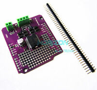 Dual channel Motor Driver Shield L298P DC stepper motor driver board Arduino