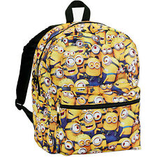 Despicable Me Minions All Over Kids Backpack 16 inches