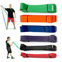 Bandes Elastique de Resistance Yoga Bande Fitness Musculation avec d'Exercice