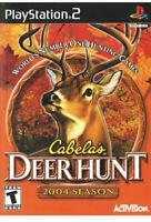 Cabela's Deer Hunt 2004 Ps2 PlayStation 2 t kids game