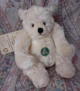 HERMANN MOHAIR GERMAN LTD BEAR JOSEPHINE POLAR BEAR WHITE CREAM COLOR