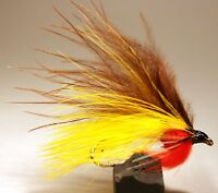 ICE FLIES. Streamer fly, Holmfridur. Size 2, - 10 (3-pack)