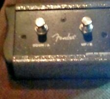 Fender 2-Button MS2 Programmable Footswitch for Mustang Series Amps - Open Box