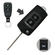 Flip Key Shell + Key Blank refit for HYUNDAI Tucson ix35 Remote Fob SS1012BS