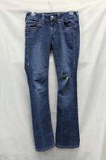 True Religion BECKY Womens Jeans Size 26 Great Used Condition Distressed Hole