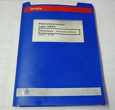 Reparatiebrochure VW Lupo Elektrische installatie ab 1999
