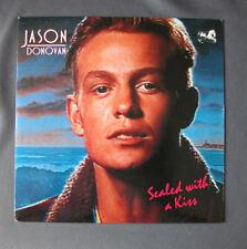 "SG 7"" 45 rpm JASON DONOVAN - SEALED WITH A KISS - 1989"