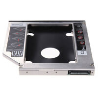 SATA 2nd HDD SSD Hard Drive Caddy Case for 9.5mm Universal Laptop CD / DVD-ROM#J