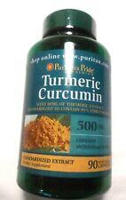 Turmeric Curcumin Root W/ Extract Pills 95% Curcuminoids 500Mg 90 Capsules