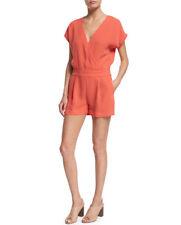 Diane von Furstenberg Coral Short Sleeve Romper Size 6