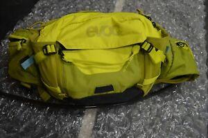 Evoc Hip Pack Pro Bag 3L Sulphur Moss Green yellow w/ bladder mountain bike
