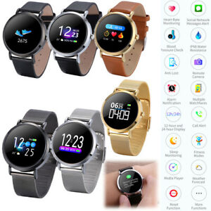 Business Watch Bluetooth Smart Watch Heart Rate Monitor For Men Women Boys Girls