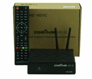 5 x Zgemma H9S SE- 4K UHD 1x DVB-S2X - Android / Enigma2 - WIFI - -NEW 2021