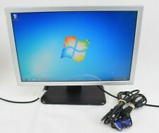 "Dell SE198WFPv 19""  LCD Flat Panel Monitor Display VGA w/ Cords Grade B"