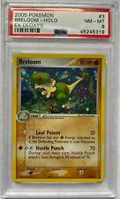 2005 Pokemon ex Deoxys Breloom Holo #3 PSA 8