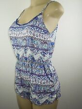 New Victoria's Secret Swim Beach Pool Cover up Short Romper Jumper  SMALL