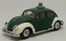 Vintage Corgi 492 VW 1200 European Police 1966 - 1970
