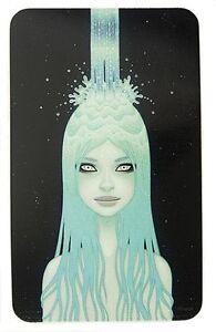 Chrystal Waterfall STICKER Decal Artist Tara Mcpherson TM42