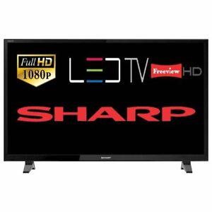 "Sharp LC-40FI3221K 40"" LED Full HD 1080p TV With Freeview HD (Black) B+"