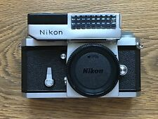 Nikon F 35mm camera body with eyelevel finder and exposure meter