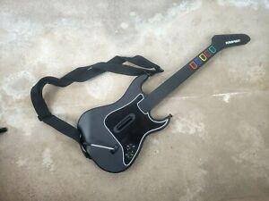 Guitar Hero Kramer Striker Red Octane Wireless Guitar PlayStation2 PS2 No Dongle