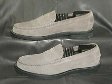 Cole Haan Pinch C21867 mens gray suede casual penny Loafer Shoes 9 1/2 M