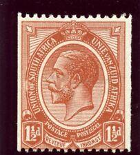 South Africa 1920 KGV 1½d chestnut superb MNH. SG 20. Sc 19.