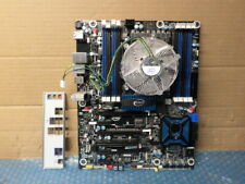 Intel DX79TO DDR3 MotherBoard - X79 LGA 2011 With I/O shield, heat sink and fan.