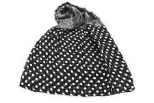 Sciarpa donna Coveri Collection modello pashmina linea pois 173202 nero