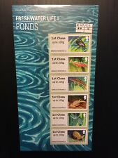 2013 ROYAL MAIL POST AND GO FRESHWATER LIFE 1 Presentation Pack