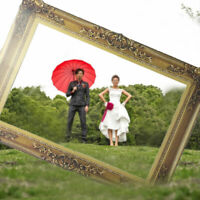 Large Picture Frame Photo Props Booth Wedding Hen Do Party Funny Selfie Props