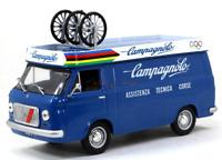 FIAT 238 1972 VAN 1:43 Scale Cycling Team Car Model Diecast Metal Miniature