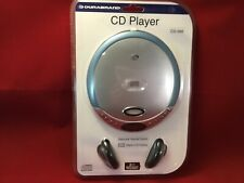 New Durabrand Cd-566 Portable Cd Player Headphones Programmable Lcd Display