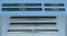 VW Volkswagen Golf Mk6 TDi Upper & Lower Door Sills Kick Plates