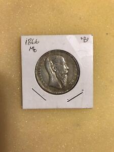 Mexico 1866mo Maximiliano 50 Centavos