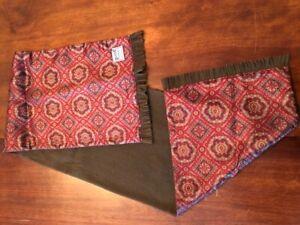 Duggie Harmony men's silk/wool scarf.