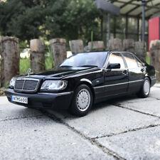 1:18 Scale ORIGINAL 1990 Mercedes-Benz S600 W140 DIECAST MODEL CAR COLLECTION