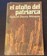 El Otoño del Patriarca, Gabriel Garcia Marquez 1ra Edicion Marzo 1975 Colombia