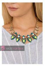 Modeschmuck-Halsketten & -Anhänger aus gemischten Metallen Türkis