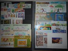 Athletisme Course 3 scans 282 timbres + 23 Blocs Neufs & Oblitérés Dentelés & ND