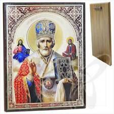 Ikone Heilige Nikolaus Holz 30 x 40 Николай Чудотворец икона ikona