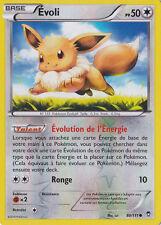 Evoli Reverse - XY3:Poings Furieux - 80/111 - Carte Pokemon Neuve Française