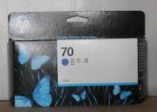 HP 70 tinta c9458a azul para DesignJet z3100 z3200 130ml 2015 OVP