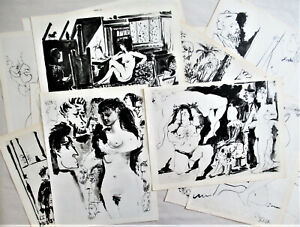 PICASSO -TWENTY (20) ORIGINAL HELIOGRAVURES - SUITE#20 - 1954 - FREE SHIP IN US!